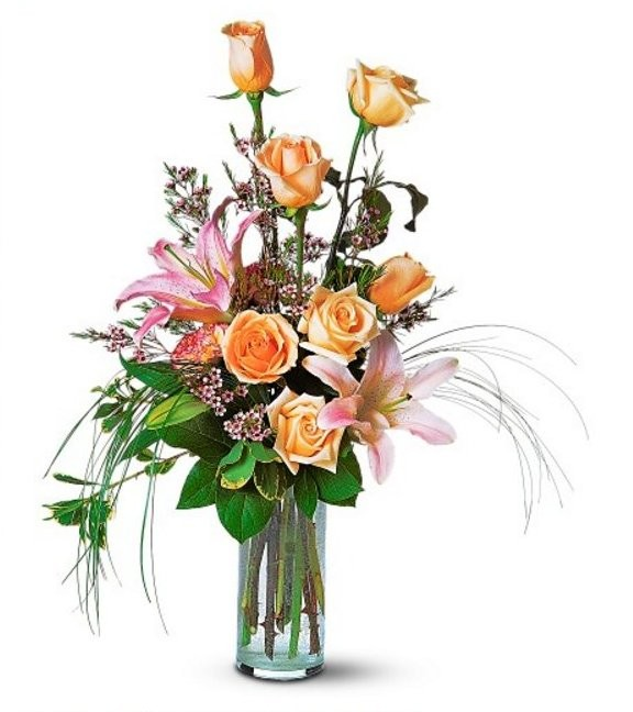 Roses and Lily Splendor