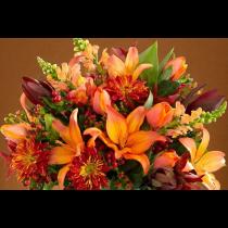 Fierce Lily Bouquet