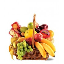 Fruit & Snack Gourmet Basket 2