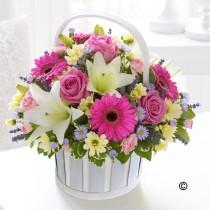 Flower Spring Basket 2