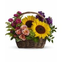 Sunflower Basket 3